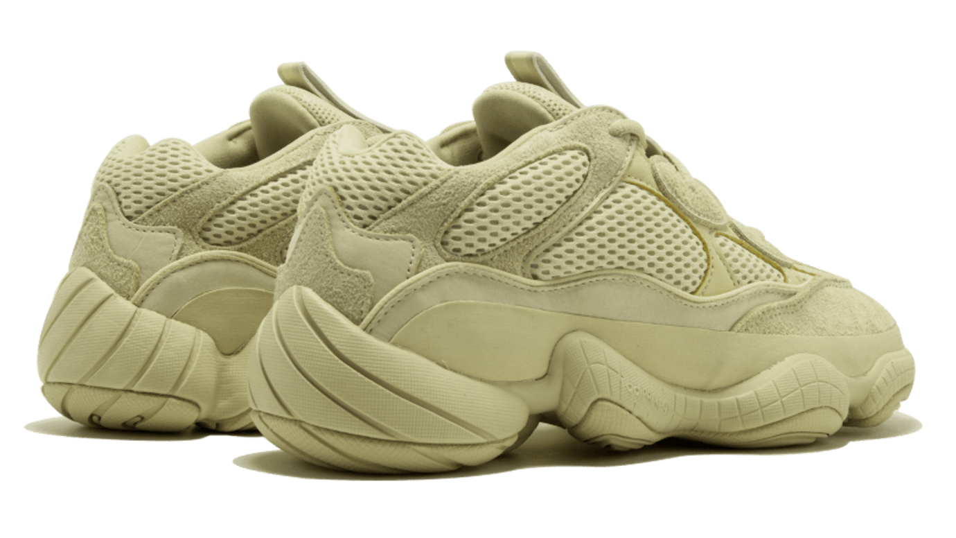 competitive price e9d59 611c4 A Closer Look at the 'Super Moon Yellow' Adidas Yeezy 500s ...
