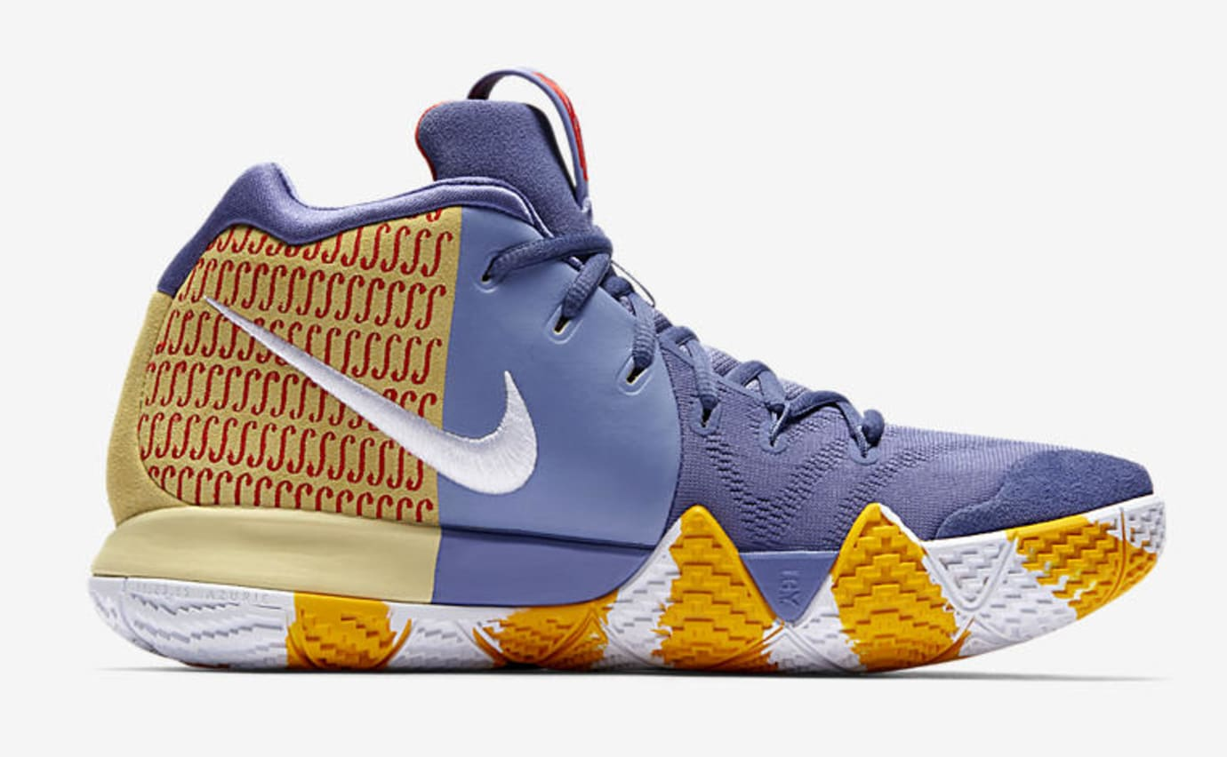 91b80ed9dca7 Image via Nike Nike Kyrie 4  London PE  AR6189-500 (Medial)