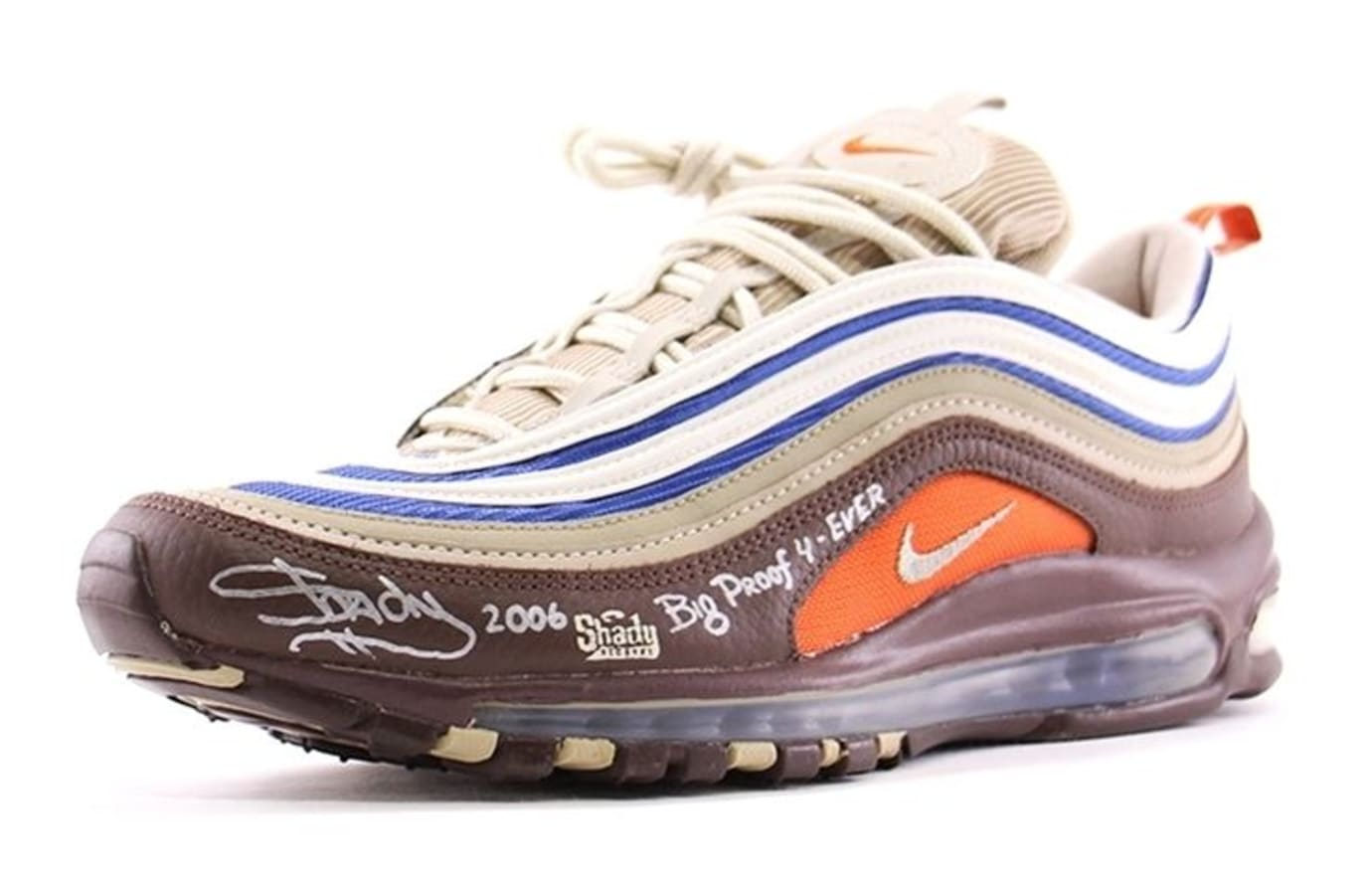 68cab9e3a0c Eminem  Nike Air Max 97 Available on Ebay