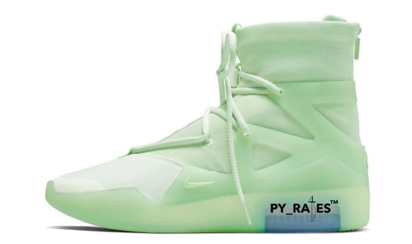 Nike Air Fear of God 1 'Frosted Spruce' Lateral