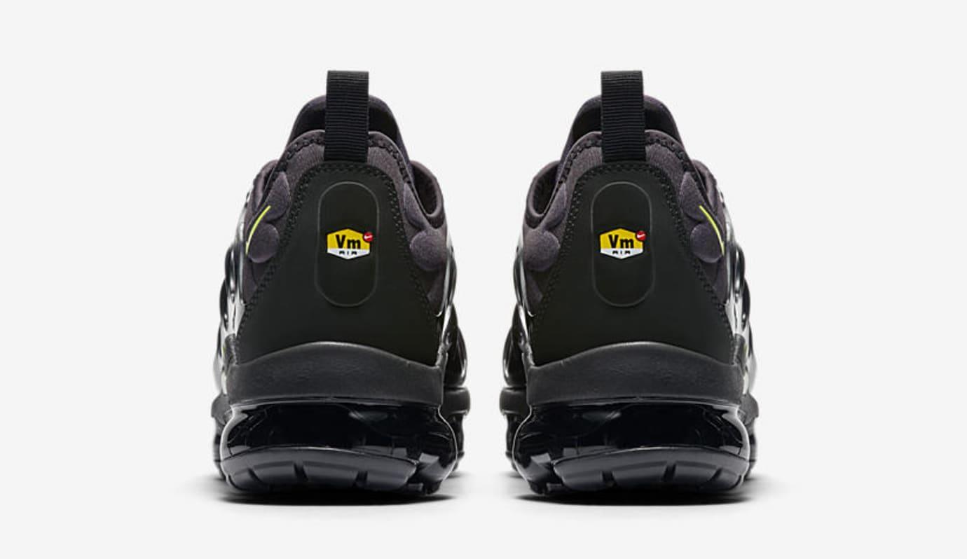 Nike Air VaporMax Plus 'Black/Volt' 924453-009 (Heel)