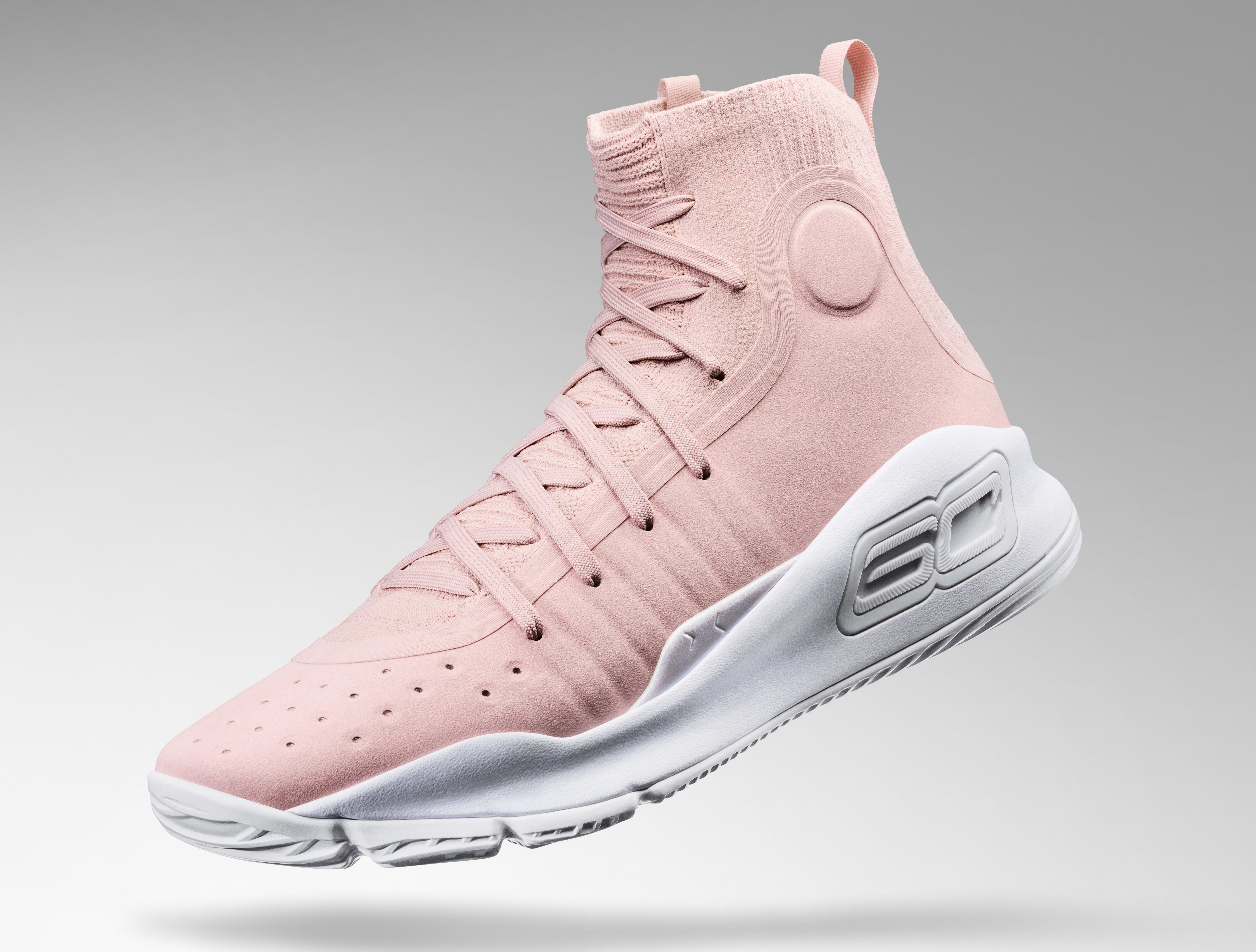 Under Armour Curry 4 'Flushed Pink' 4
