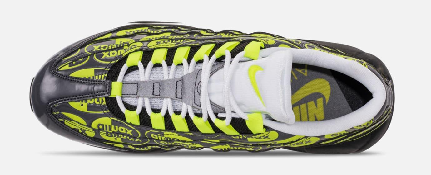 Nike Air Max 95 'Black/Volt/Ash White' 538416-019 (Top)