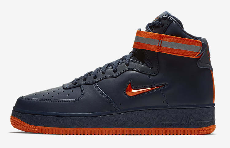 Nike Air Force 1 High 'NYC's Finest' AO1636-400 (Lateral)