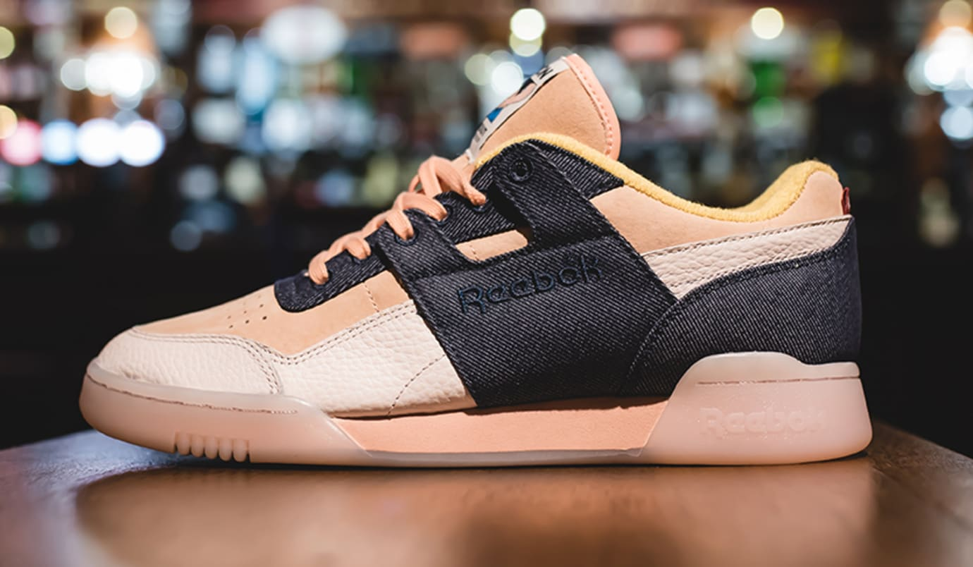 Hanon x Reebok Workout Lo Plus 'Belly's Gonna Get Ya' BS7771 (Lateral)