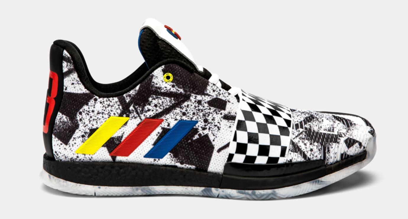0476df75b46e Adidas 2019  All-Star Raceway  PE Collection Harden Vol. 3 Dame 5 ...