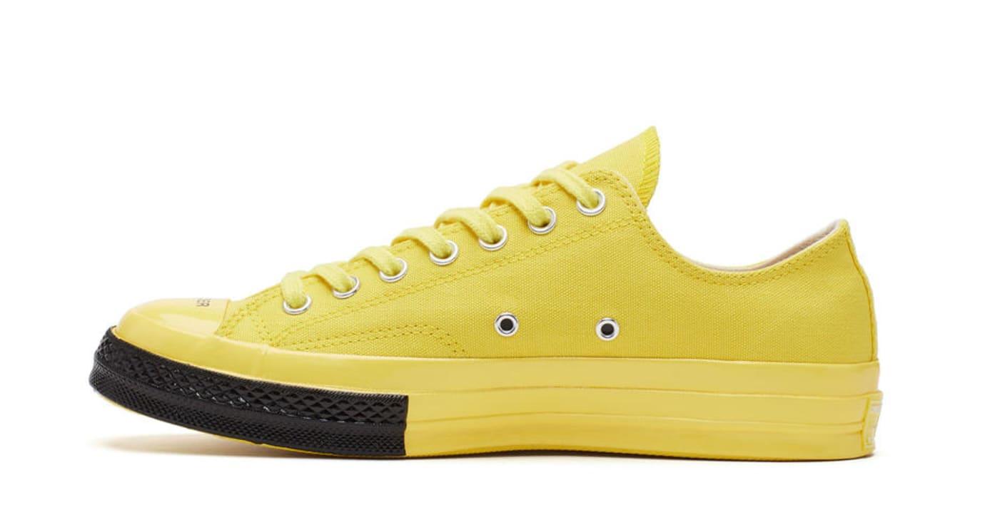 Undercover x Converse Chuck 70 'Yellow' (Medial)