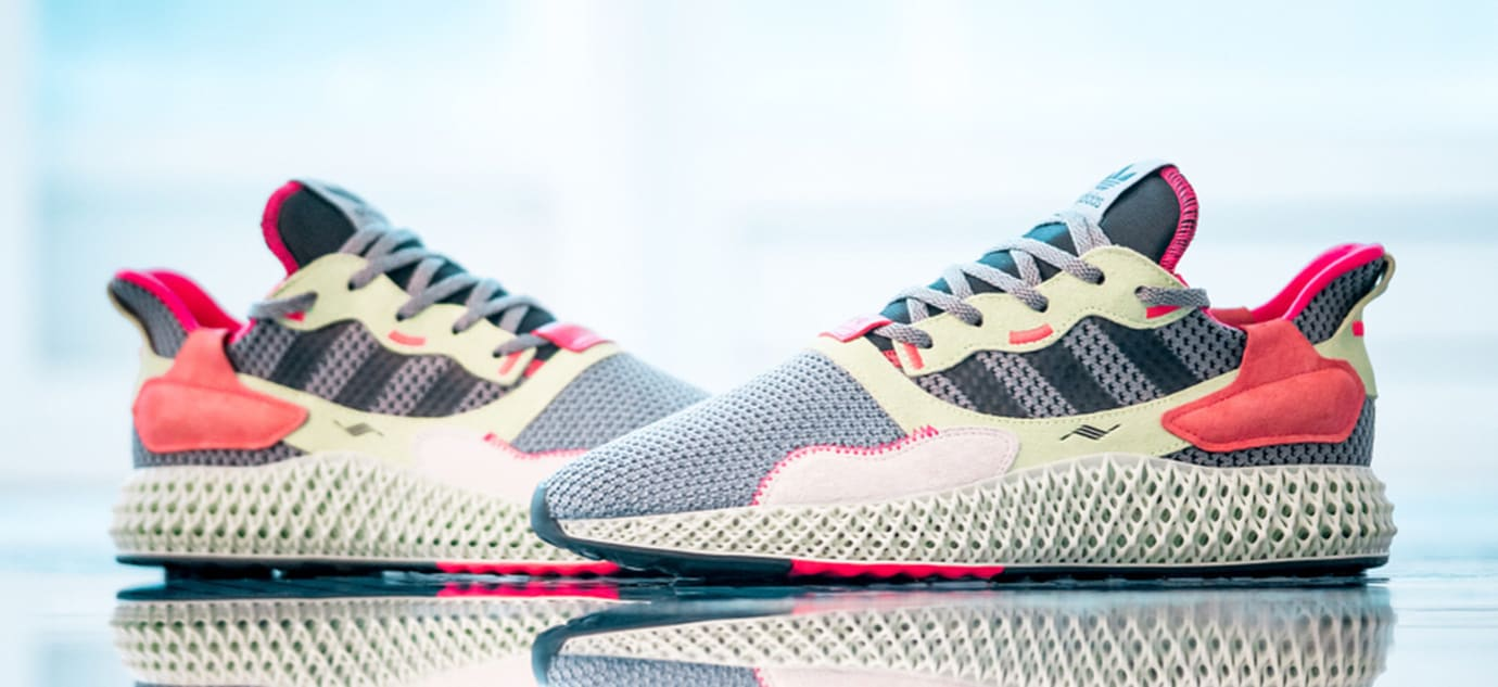 best website 76ee5 2b002 Image via inmidoutsole · Adidas ZX 4000 4D Grey (Pair)