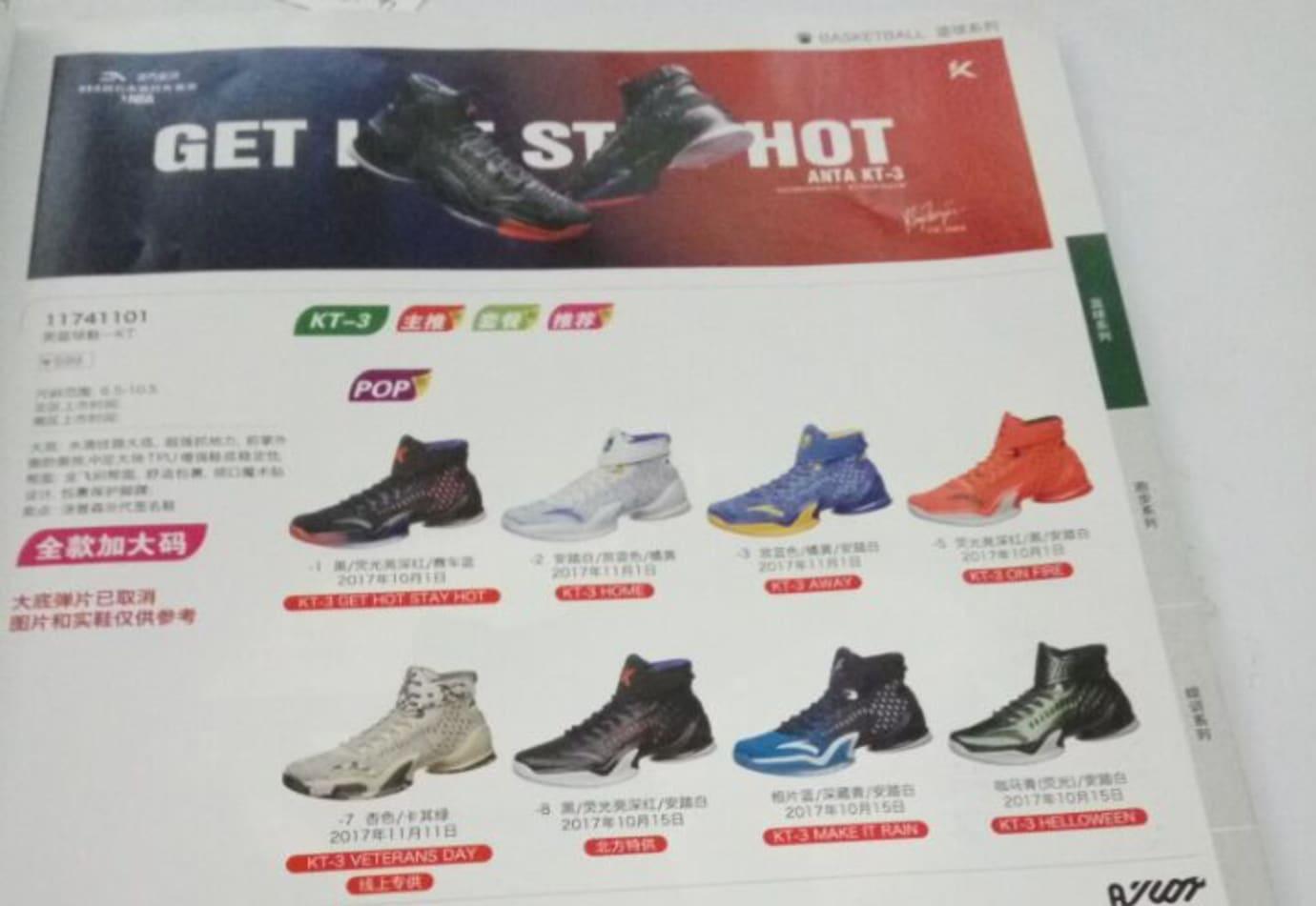 ANTA KT 3 Catalog