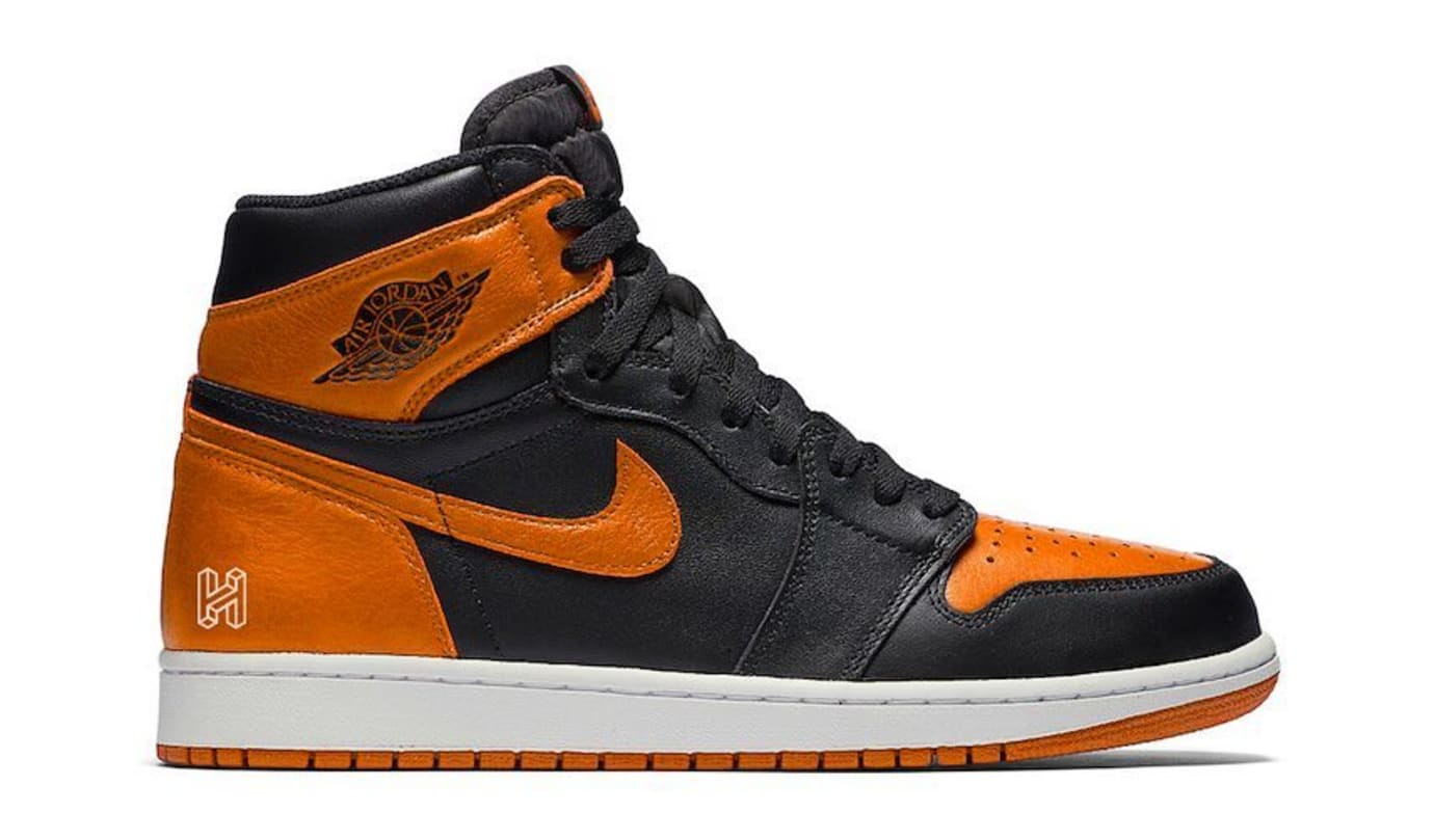 179e08deafe6 Air Jordan 1  Shattered Backboard 3.0  Black Pale Vanilla-Starfish 555088-