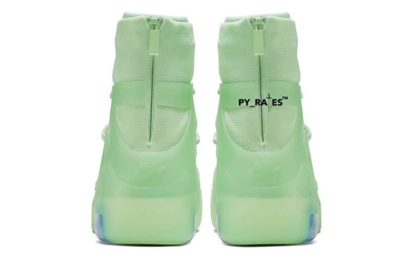 Nike Air Fear of God 1 'Frosted Spruce' Heel