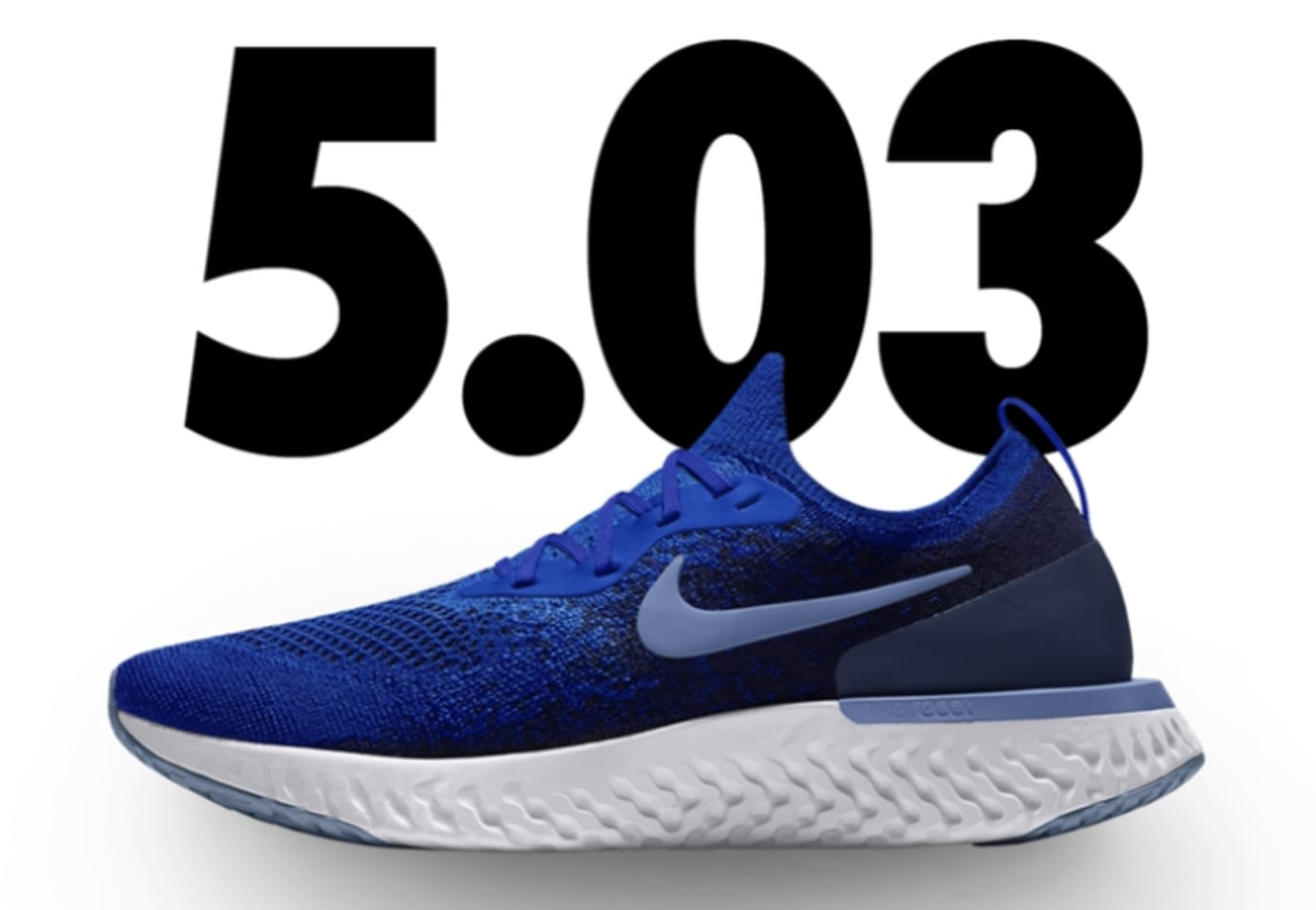 Nike Epic React Flyknit iD 'Royal Blue'