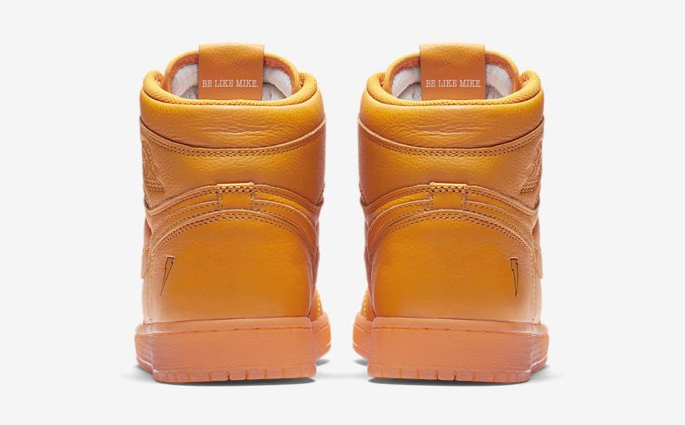 Air Jordan 1 Gatorade Orange Release Date AJ5997-880 Heel