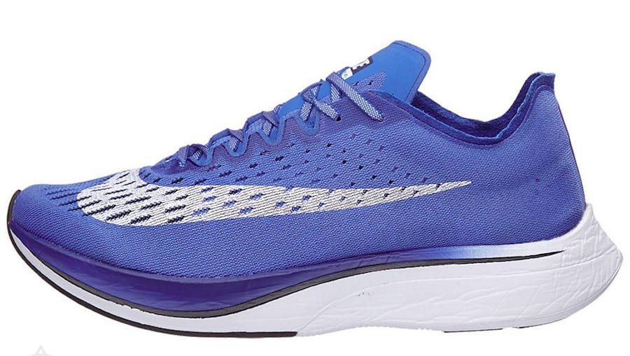 Nike Zoom VaporFly 4% 'Royal Blue' (Lateral)