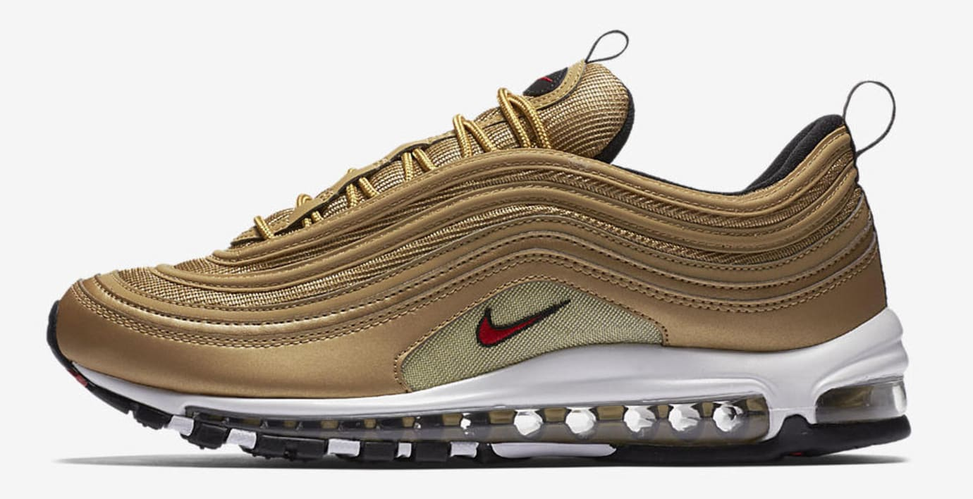 Nike Air Max 97 OG 'Metallic Gold' 884421 700 Release Date