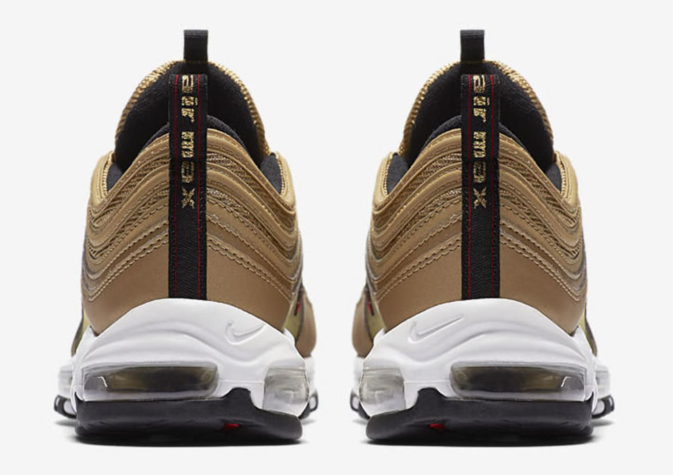62c12b06 Nike Air Max 97 OG 'Metallic Gold' 884421-700 Release Date 2018 ...