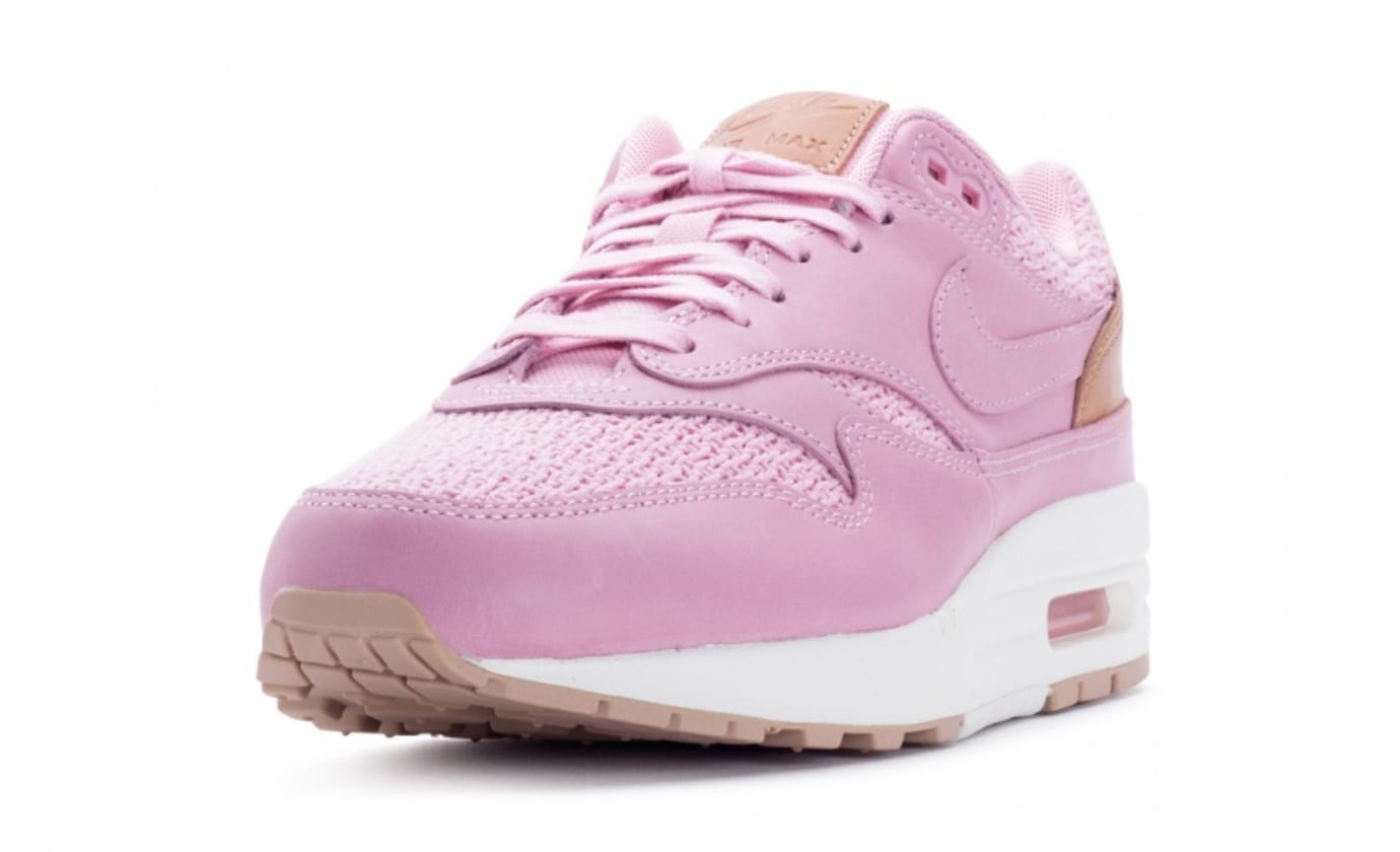 Nike Air Max 1 Premium Women's Pink Glaze Release Date Front 454746-601