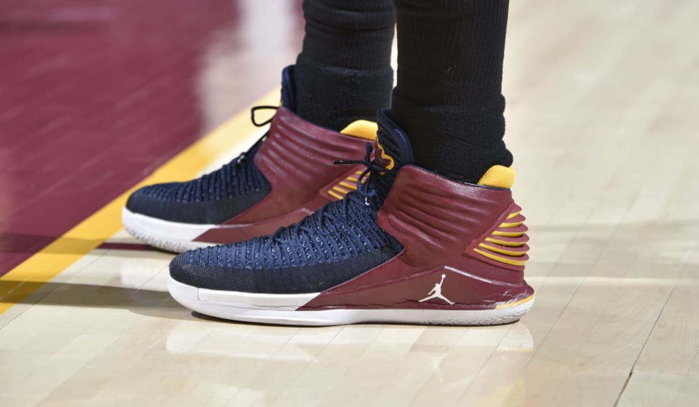 8e00d9f7d11 Cavs' Jeff Green Gives Air Jordan PEs to a Young Fan | Sole Collector