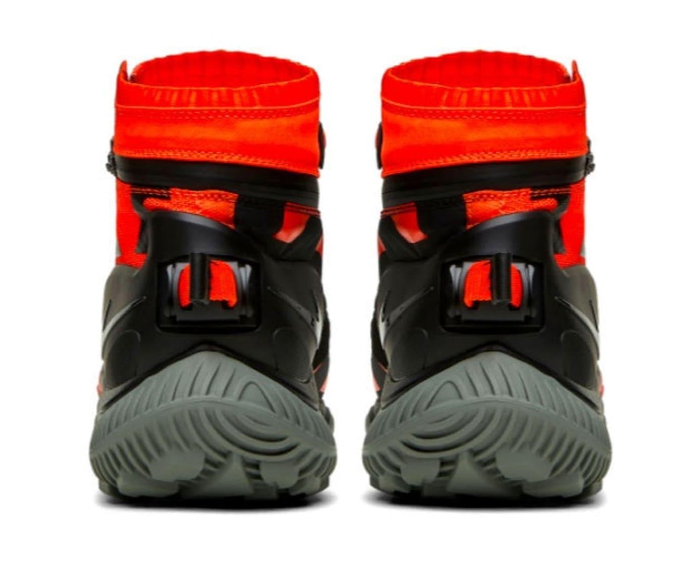 NikeLab Gyakusou Gaiter Boot 'Vivid Orange' (Heel)