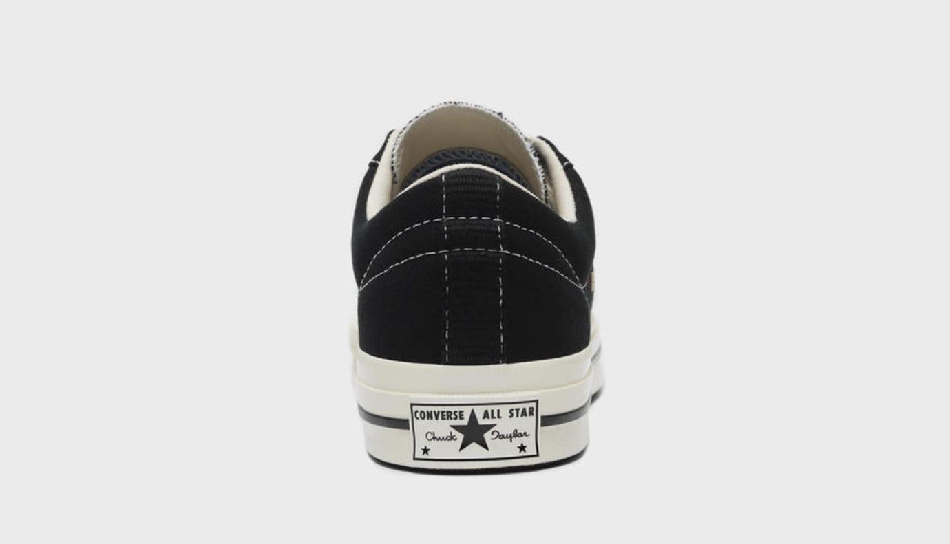0cc59eee947114 Image via Converse Dover Street Market x Converse One Star  Black  (Heel)