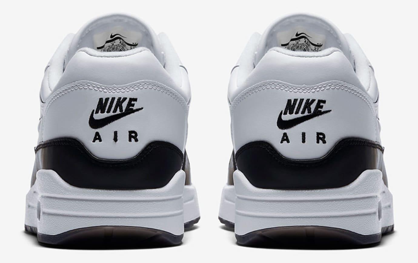 Nike Air Max 1 Jewel 'Black/White' 918354-100 (Heel)
