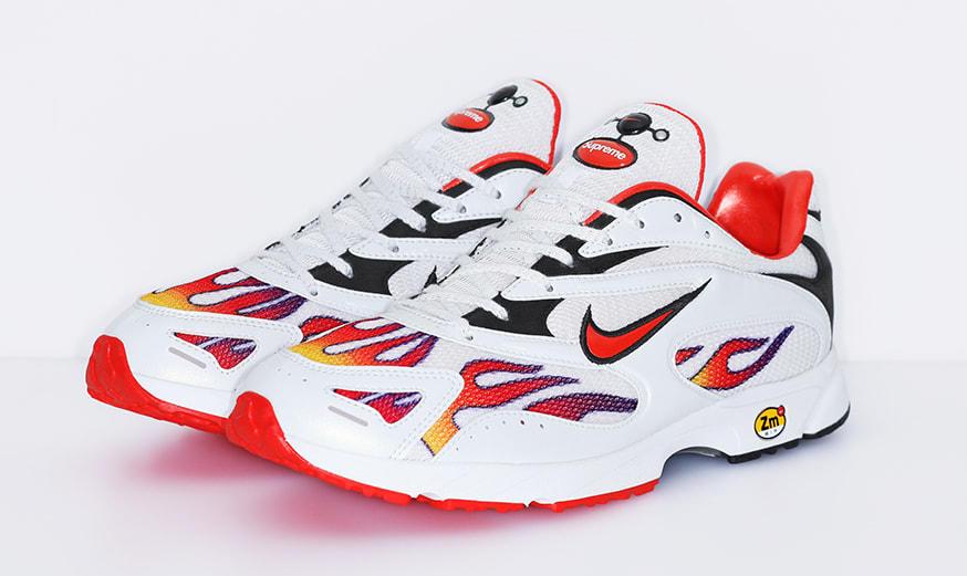Supreme x Nike Zoom Streak Spectrum Plus AQ1279-100 (Pair)