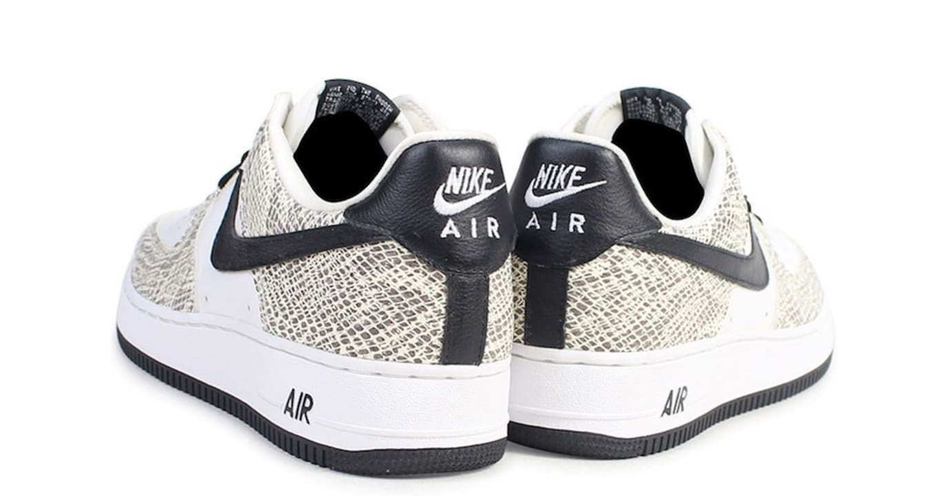 Nike Air Force 1 Low 'Cocoa Snake' 845053-104 (Heel)