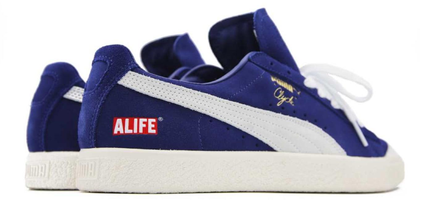 ALIFE x Puma Clyde Blue Release Date Back