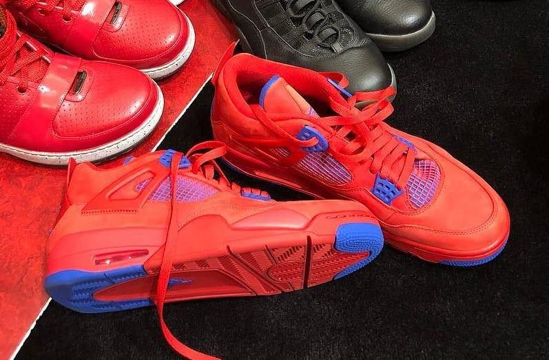 Chris Paul Air Jordan 4 IV Clippers PE