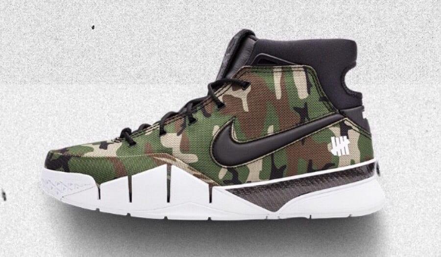 UNDFTD x Nike Zoom Kobe 1 Protro Camo Release Date