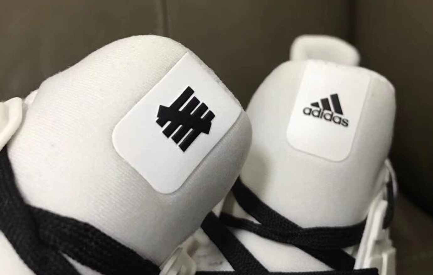 Undefeated Adidas Ultra Boost White Black 1