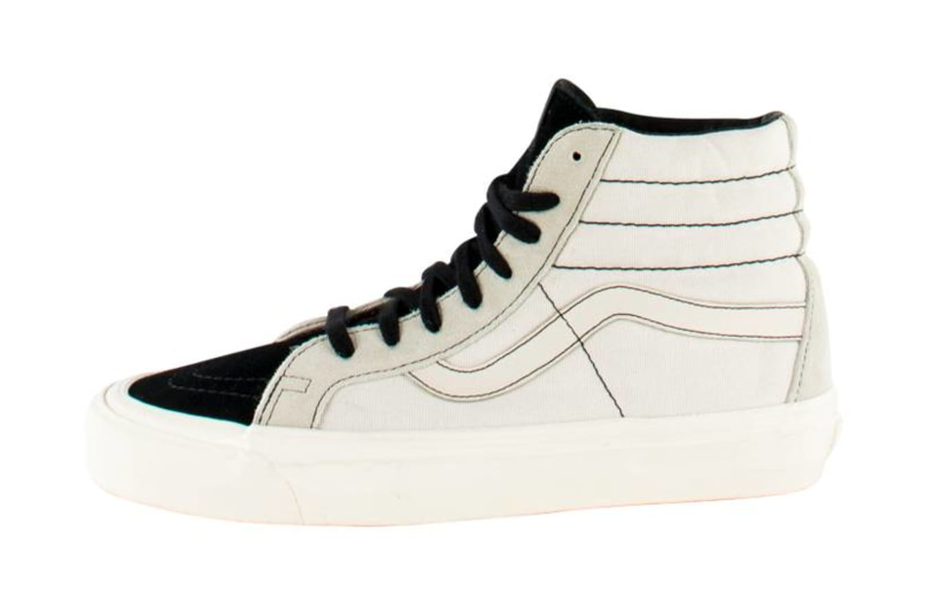 Fear of God x Vans Sk8-Hi White Sample
