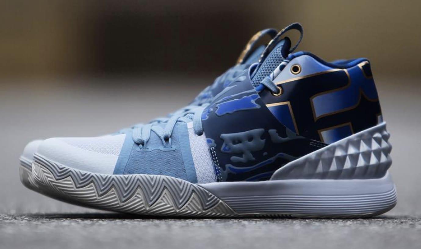 Nike Kyrie S1 Hybrid 'Blue/Gold'