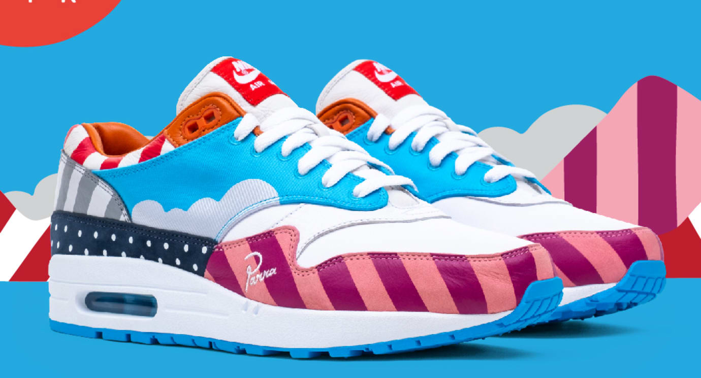 c5fe5ea5bc56 Parra x Nike Air Max 1  White Pure Platinum  AT3057-100 Release Date ...