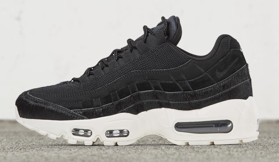 Women's Nike Air Max 95 'Embossed Fur' Pack (Black)