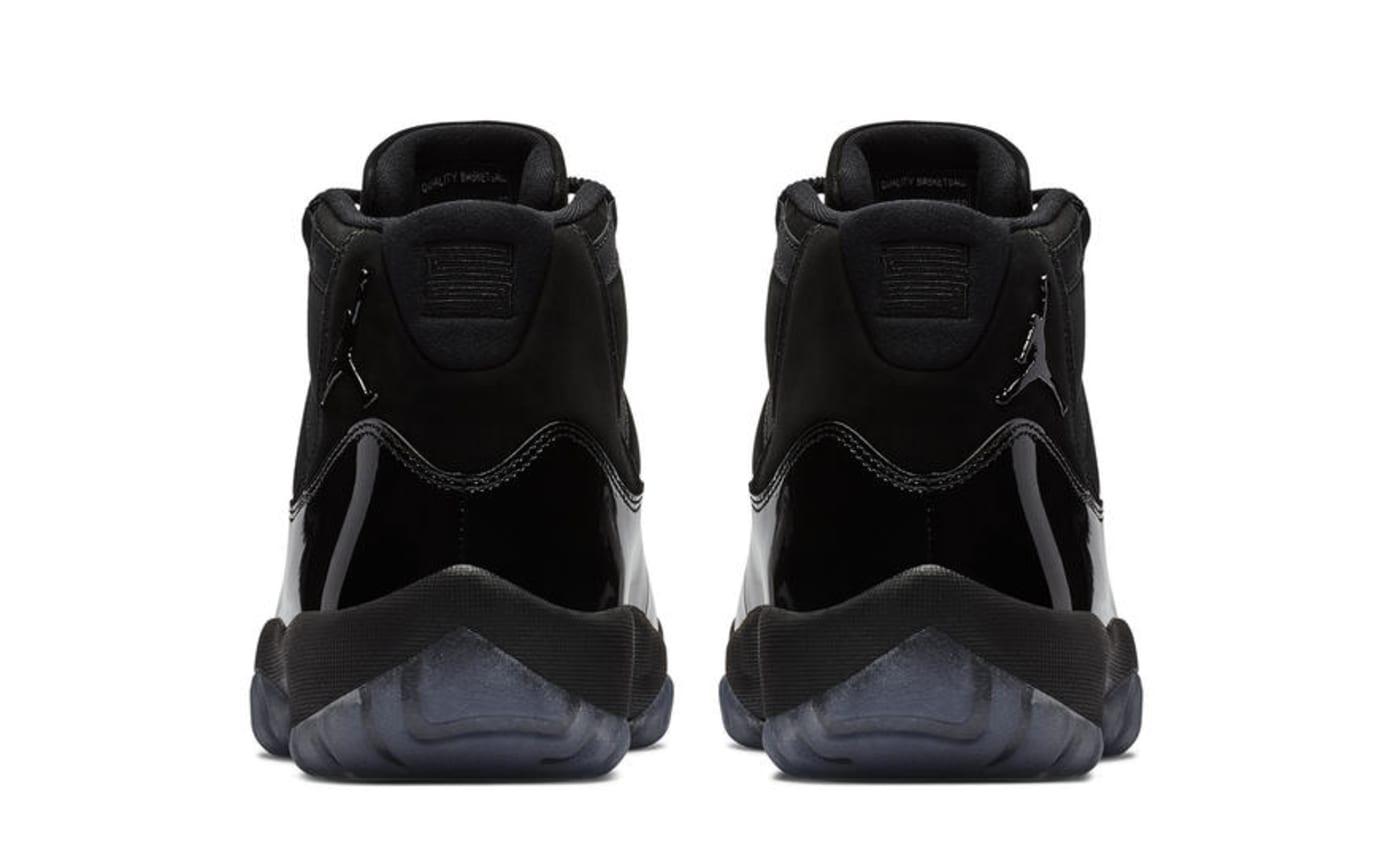 Image via Nike Air Jordan 11  Cap and Gown  378037-005 (Heel) bdce32ed14ec