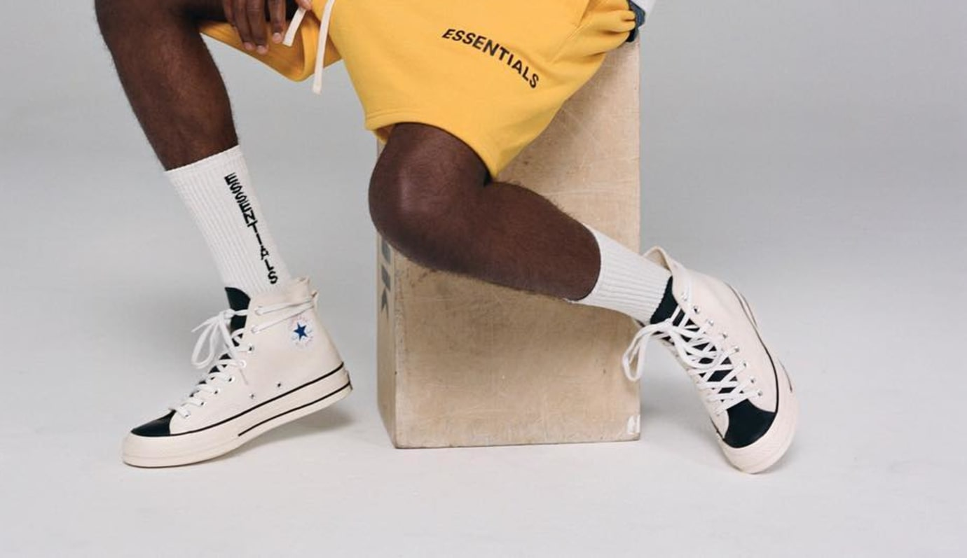 Fear of God Essentials x Converse Chuck 70 (White/Black)