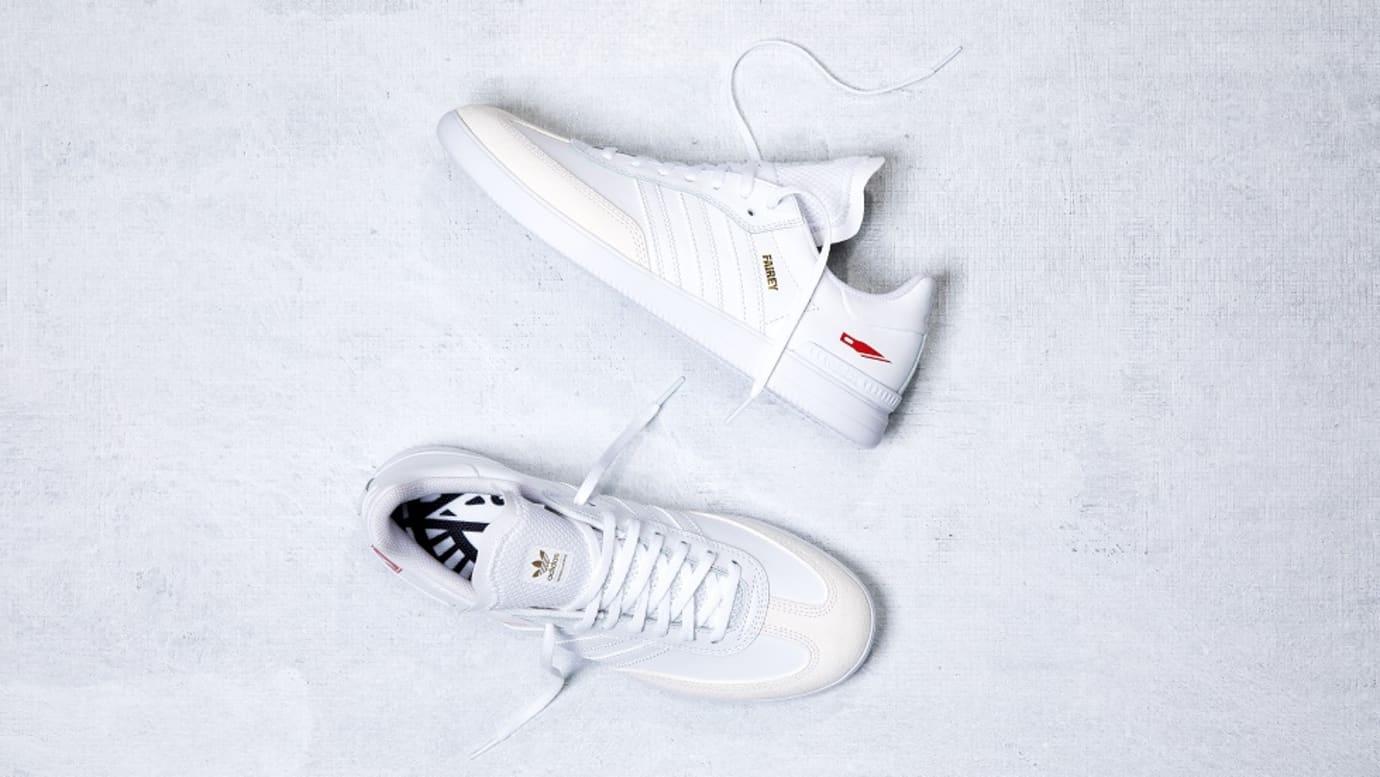 adidas samba x shepard fairey sneakers