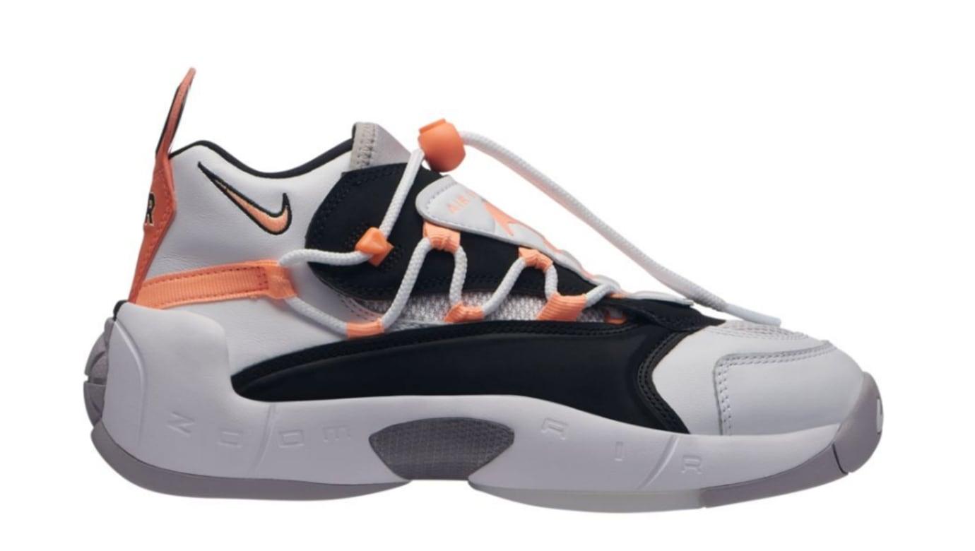 Nike Air Swoopes 2 'White/Orange Pulse/Black/White' 917592-102