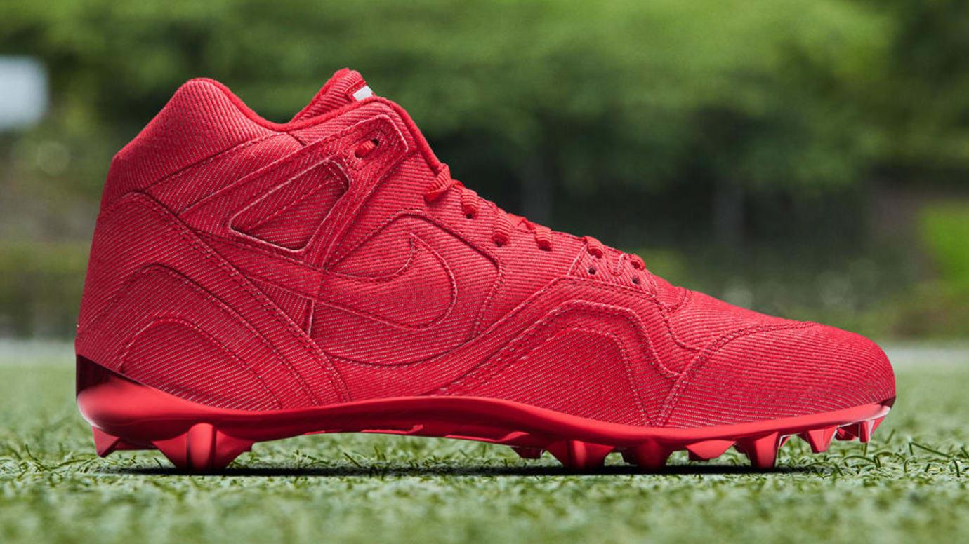 Odell Beckham Nike Tech Challenge 2 Cleats Medial