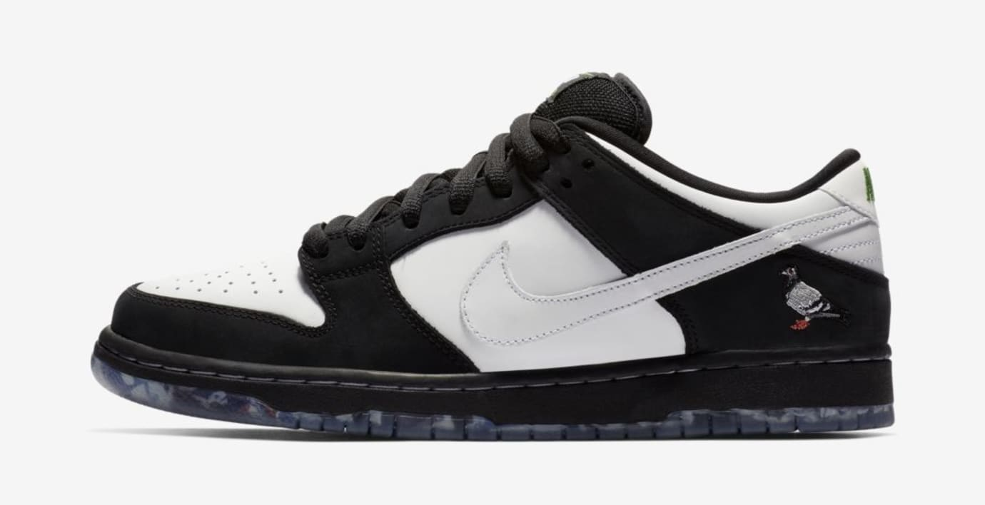 Staple x Nike SB Dunk Low 'Panda Pigeon' (Lateral)