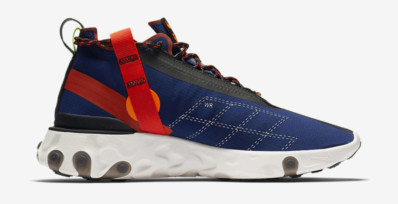 9d5dd74199d3d4 Image via US11 · Nike React Runner Mid WR ISPA  Navy  (Medial)