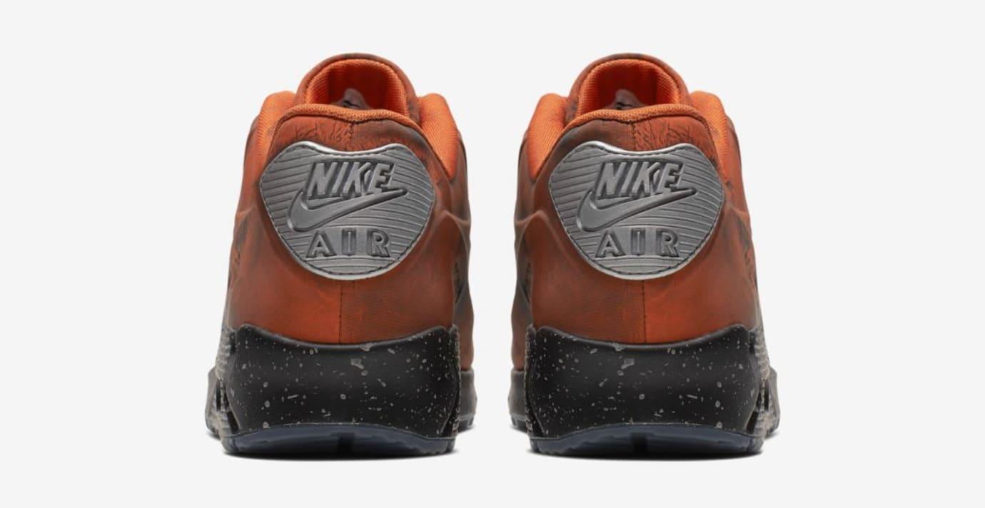 7503de20b4d Image via  J23app · Nike Air Max 90 QS  Mars Landing  Mars Stone Magma  Orange (Heel
