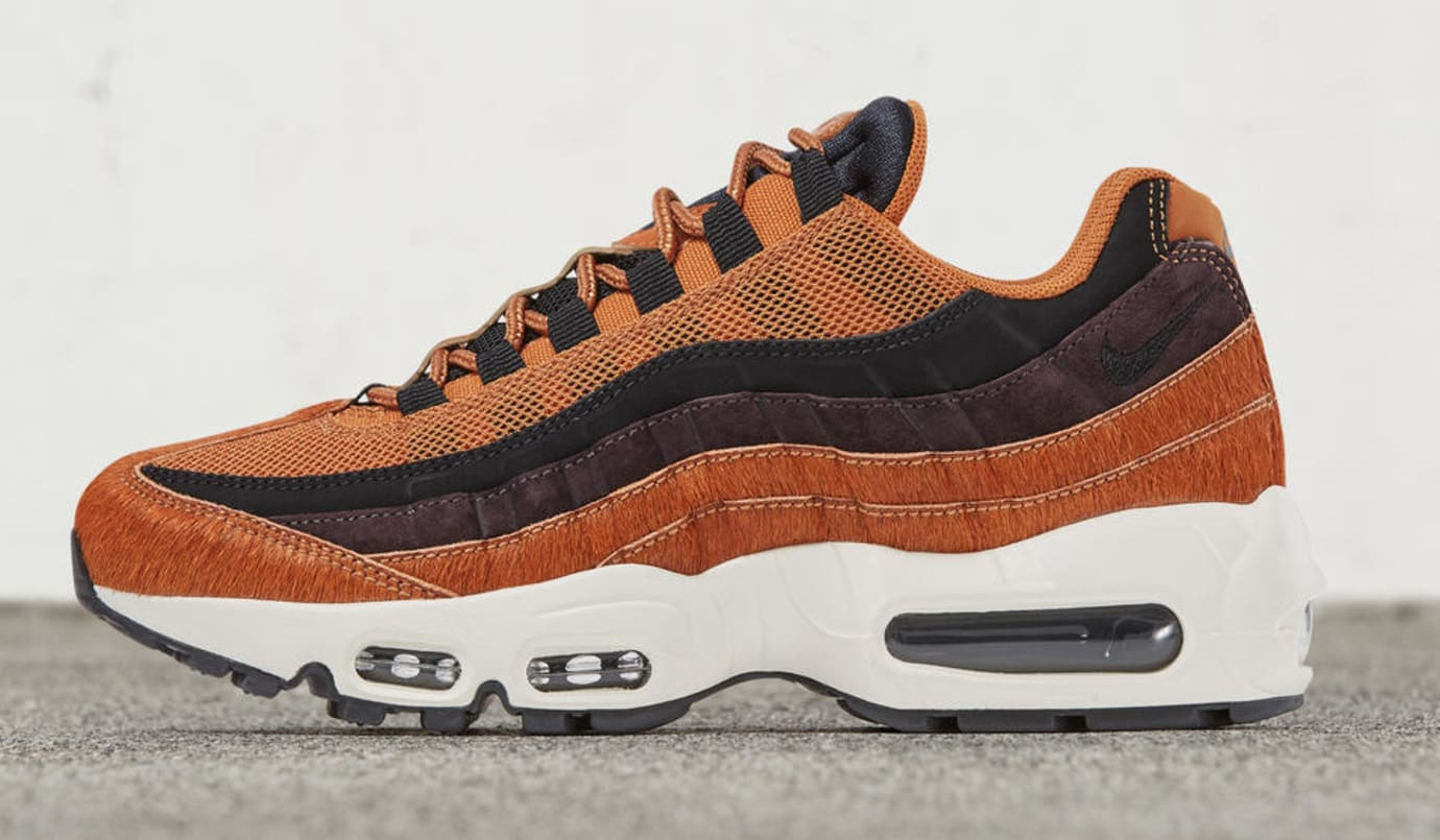 new style 42a49 637f6 Image via Nike Womens Nike Air Max 95 Embossed Fur Pack (Cider)