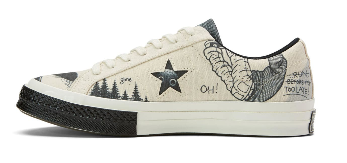 Tyler, the Creator x Converse Artist Series One Star 'Øyvind Lauvdahl' (Lateral)