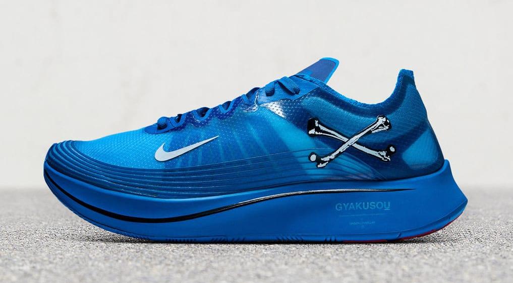 Nike Zoom Fly SP Gyakusou 'Royal Blue' (Lateral)