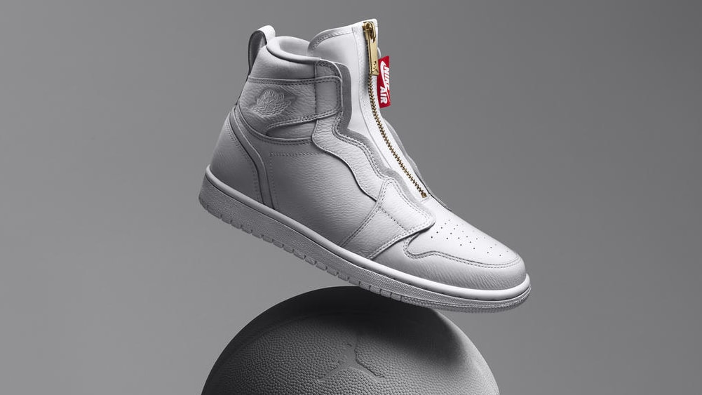 "Air Jordan 1 Women's High Zip ""White"""