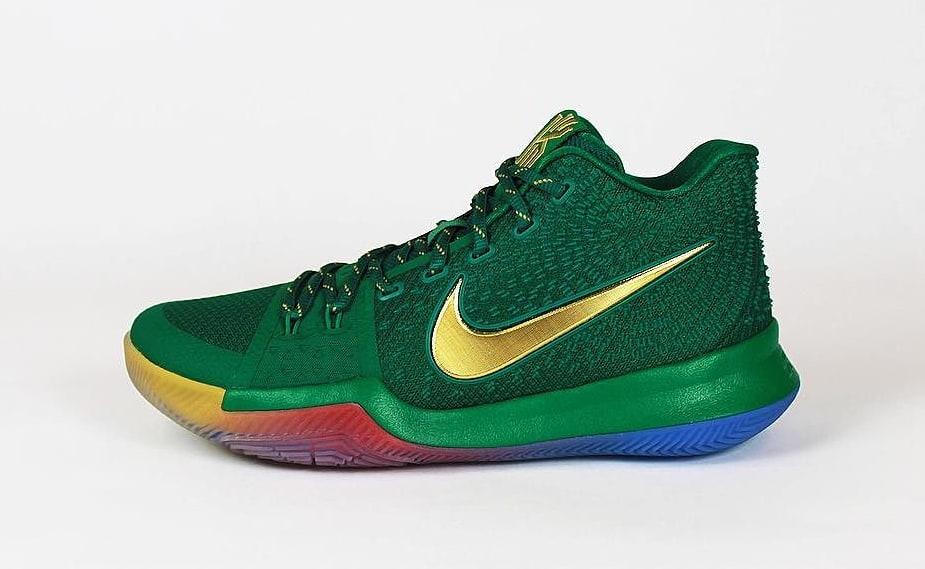 Nike Kyrie 3 Rainbow PE Profile