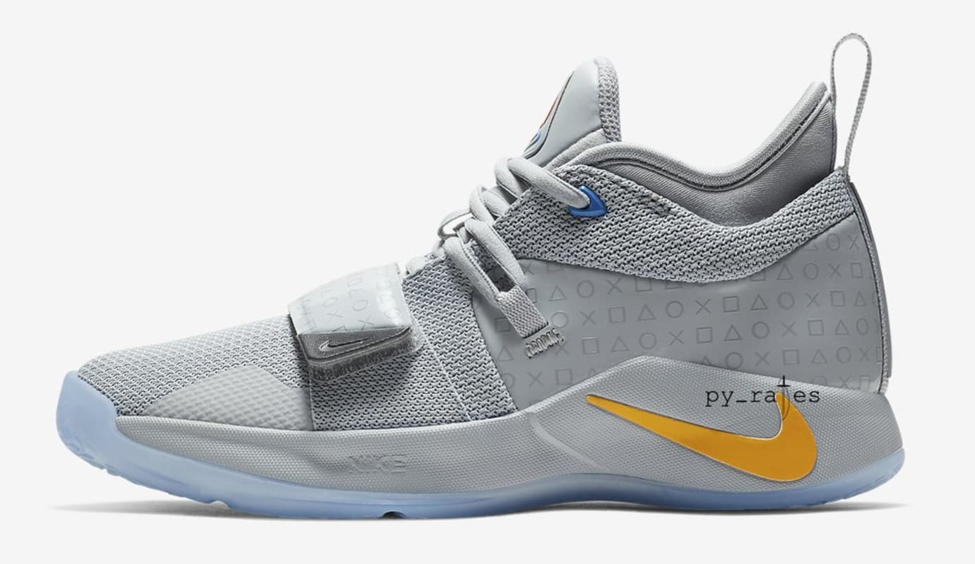 34b9b2ce2da0 Image via  py rates · Nike PG 2.5  Playstation Grey  (Lateral)