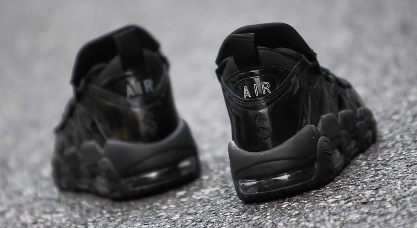 Nike Air More Money 'Black/Los Angeles' (Heel)